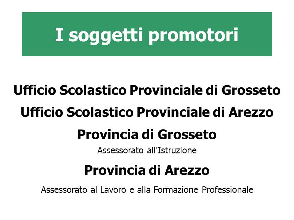I soggetti promotori Ufficio Scolastico Provinciale di Grosseto
