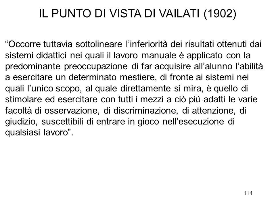 IL PUNTO DI VISTA DI VAILATI (1902)