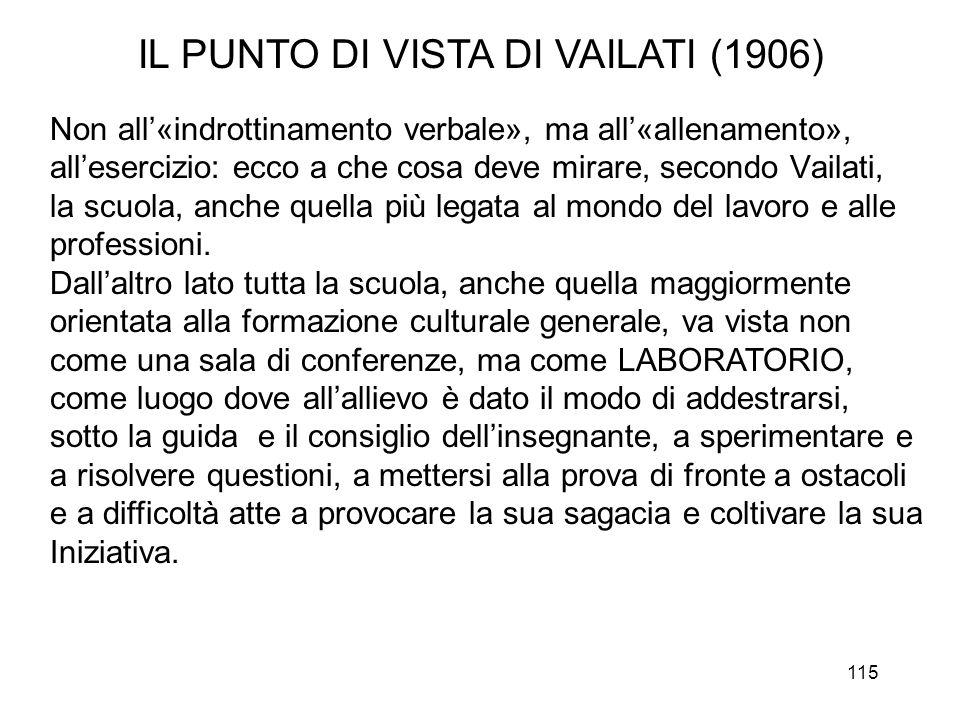 IL PUNTO DI VISTA DI VAILATI (1906)