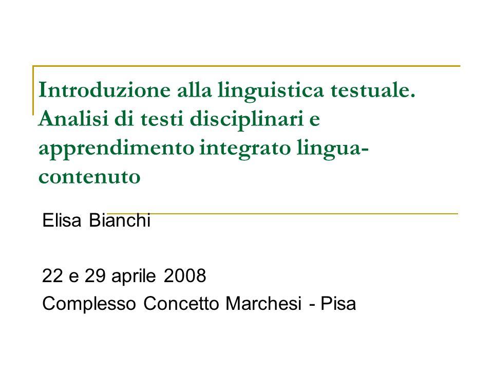 Elisa Bianchi 22 e 29 aprile 2008 Complesso Concetto Marchesi - Pisa