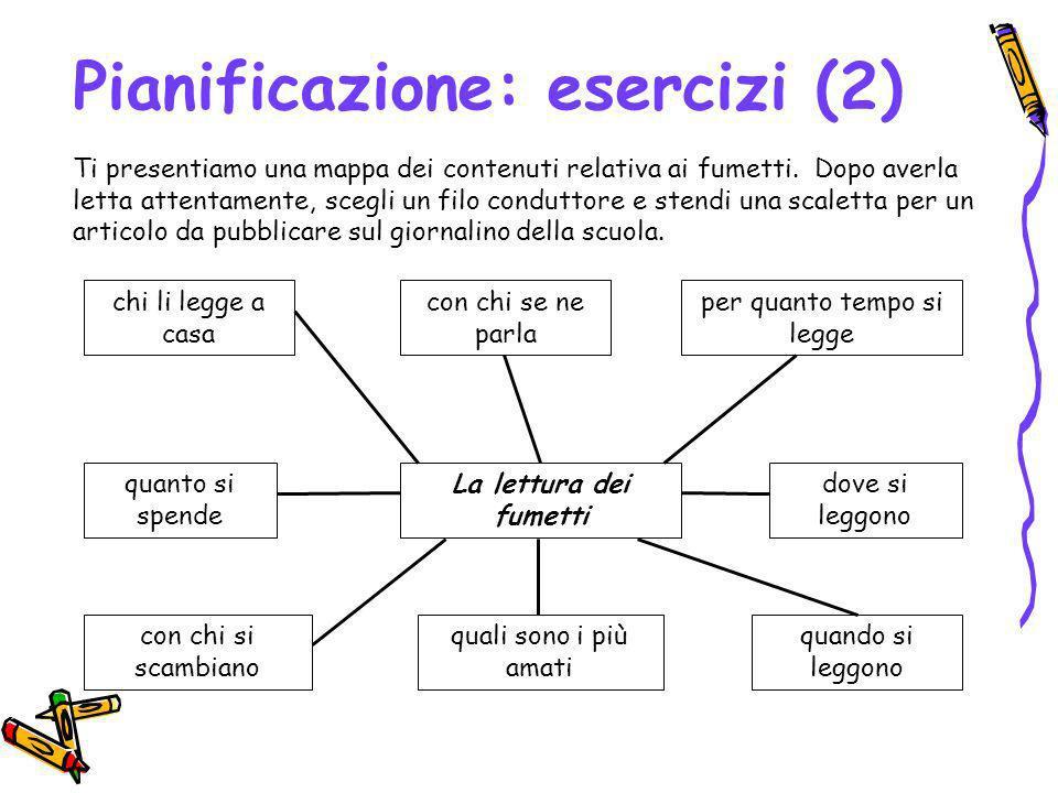 Pianificazione: esercizi (2)