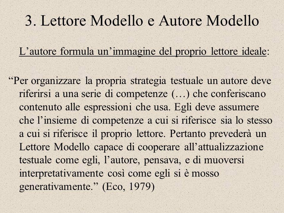 3. Lettore Modello e Autore Modello