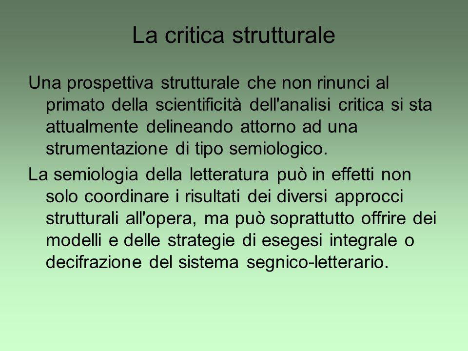 La critica strutturale