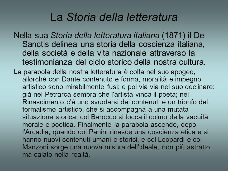 La Storia della letteratura