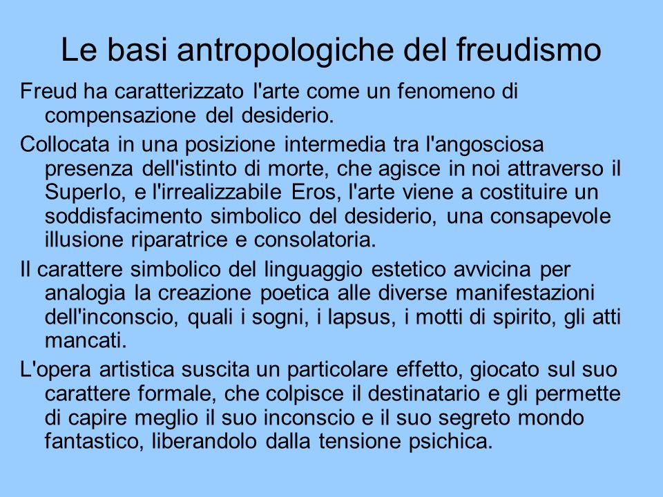 Le basi antropologiche del freudismo