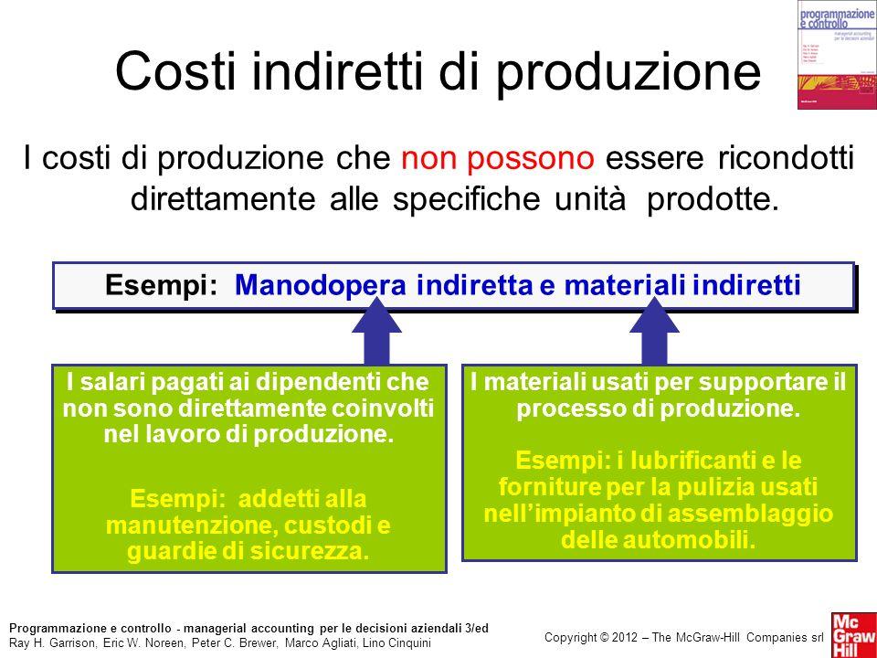 Costi indiretti di produzione