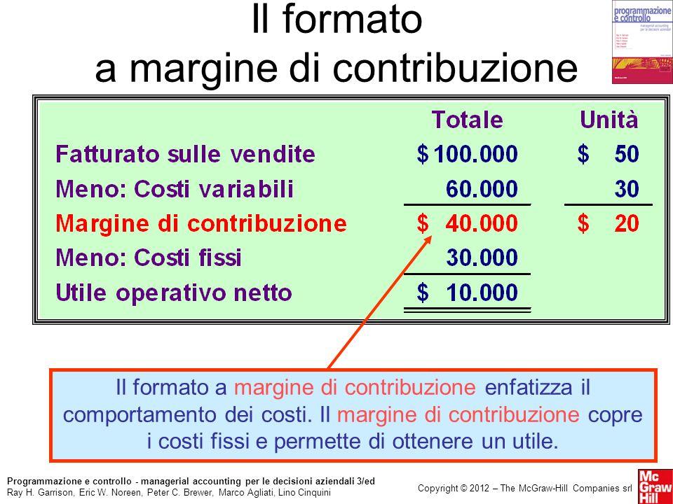 Il formato a margine di contribuzione