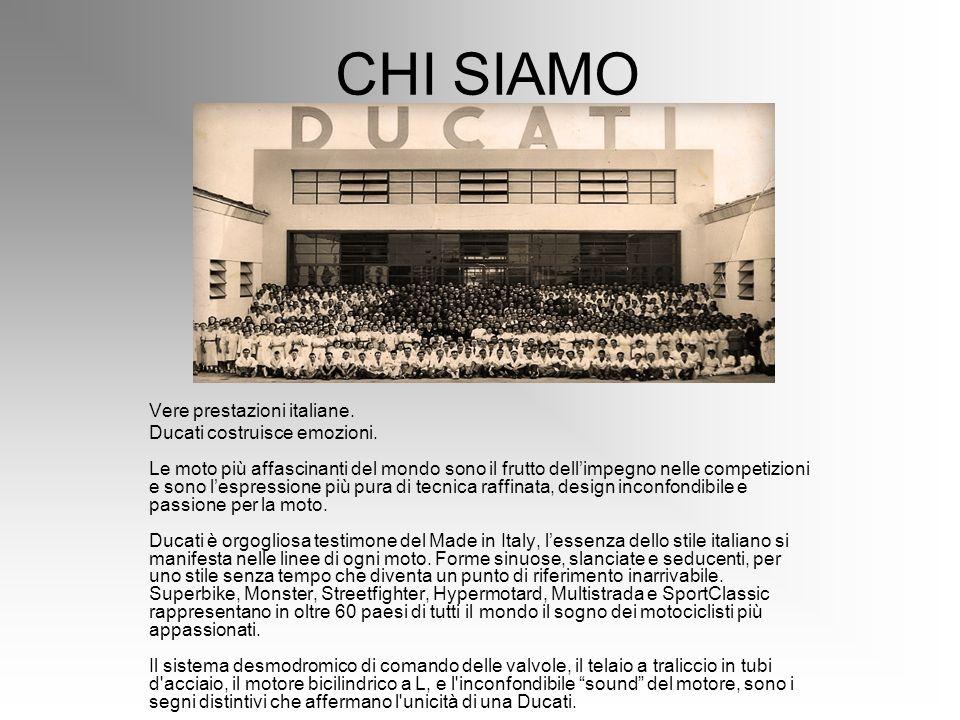 CHI SIAMO Vere prestazioni italiane.
