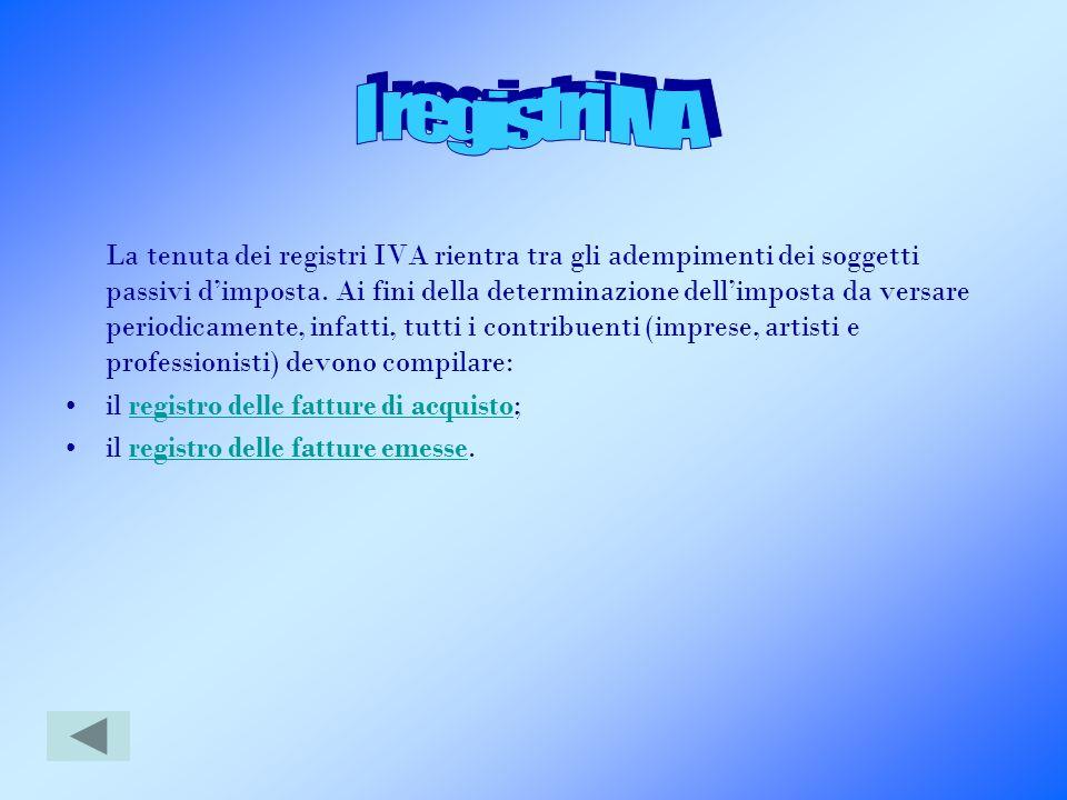 I registri IVA
