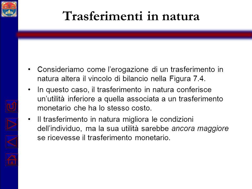 Trasferimenti in natura