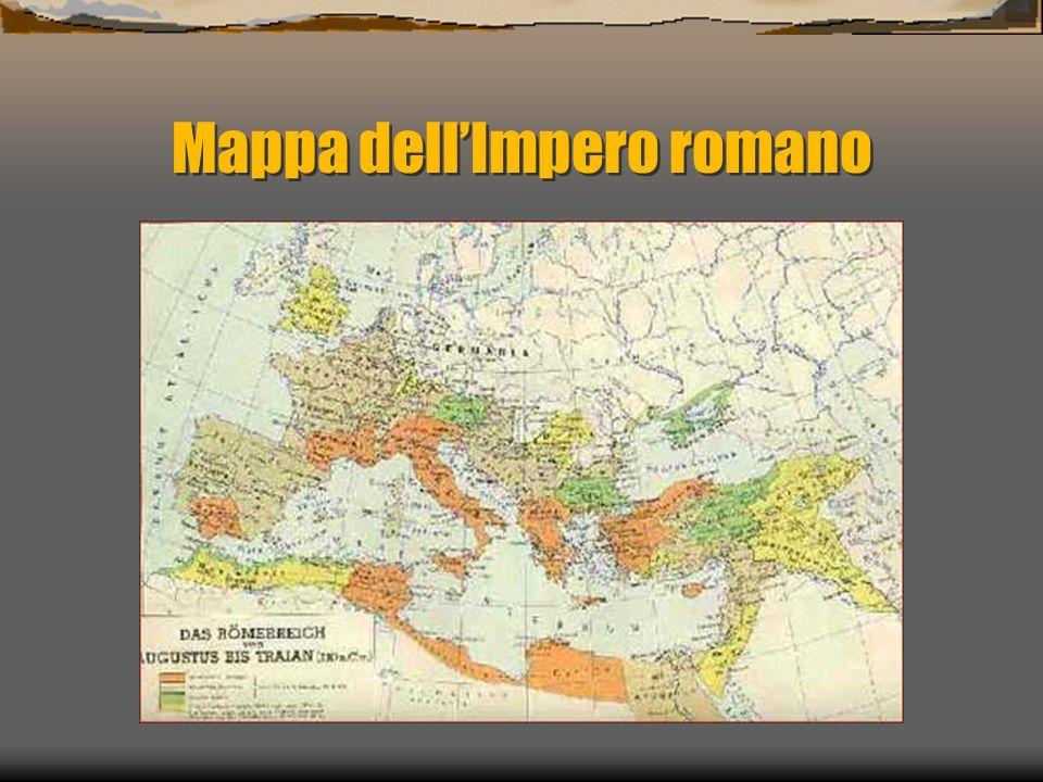 Mappa dell'Impero romano
