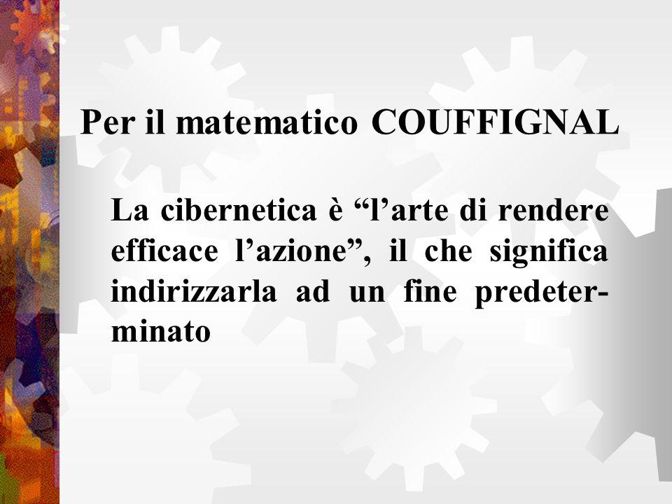 Per il matematico COUFFIGNAL