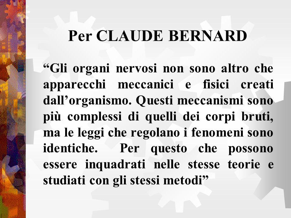 Per CLAUDE BERNARD