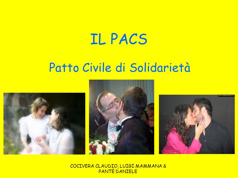 Patto Civile di Solidarietà