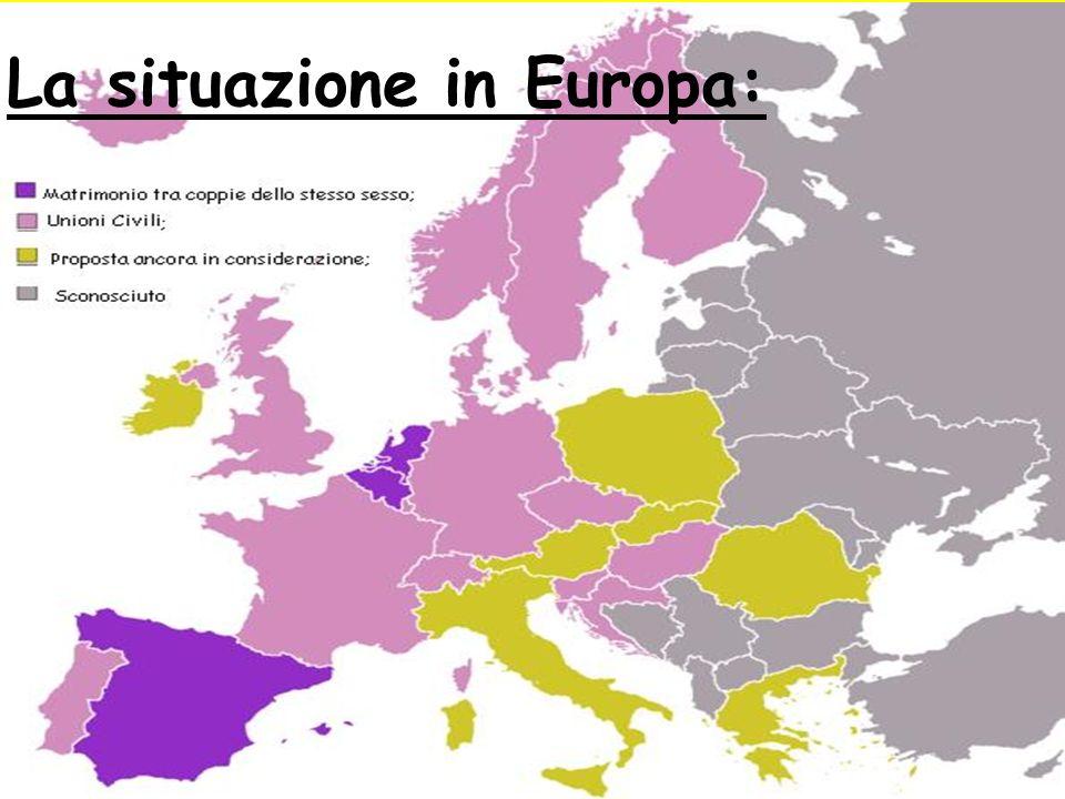La situazione in Europa: