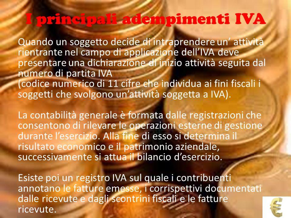 I principali adempimenti IVA