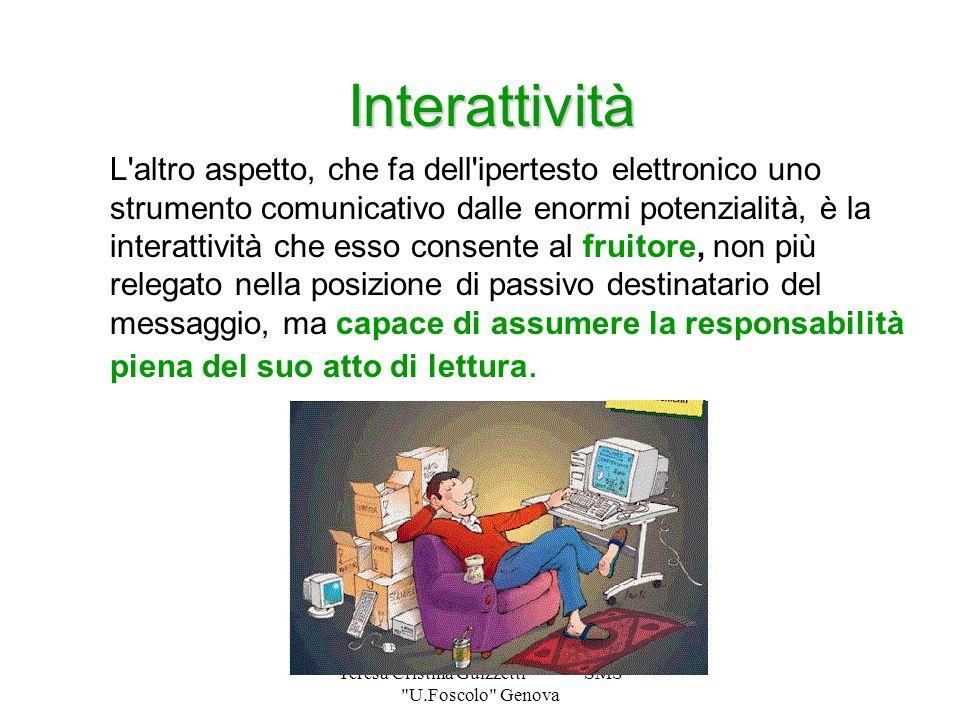 Teresa Cristina Guizzetti SMS U.Foscolo Genova