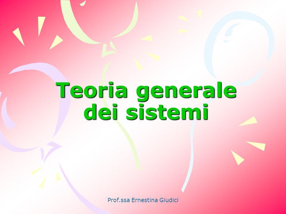 Teoria generale dei sistemi