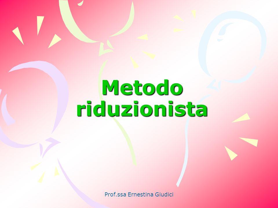 Prof.ssa Ernestina Giudici