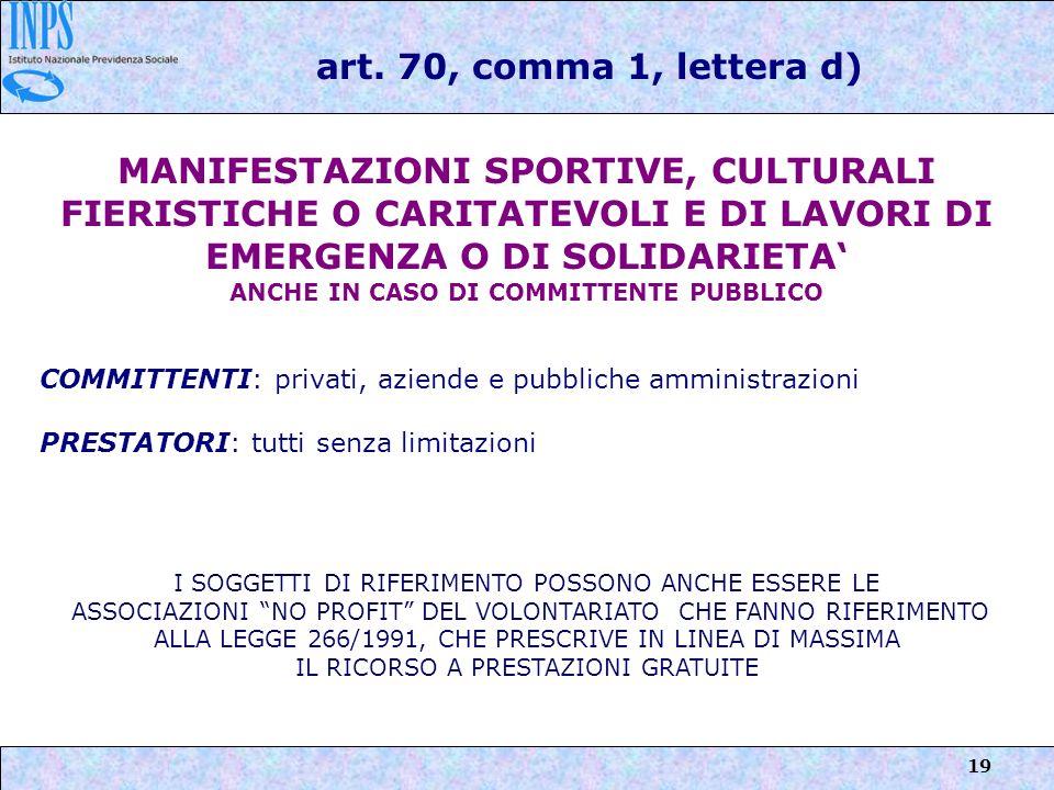 ANCHE IN CASO DI COMMITTENTE PUBBLICO
