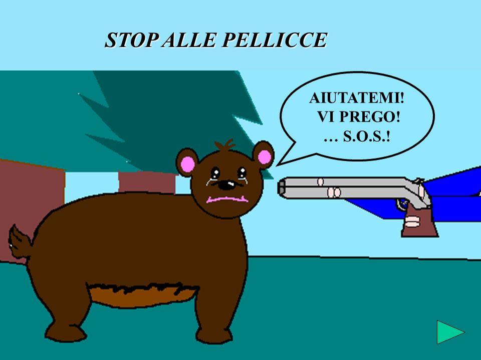 STOP ALLE PELLICCE AIUTATEMI! VI PREGO! … S.O.S.!