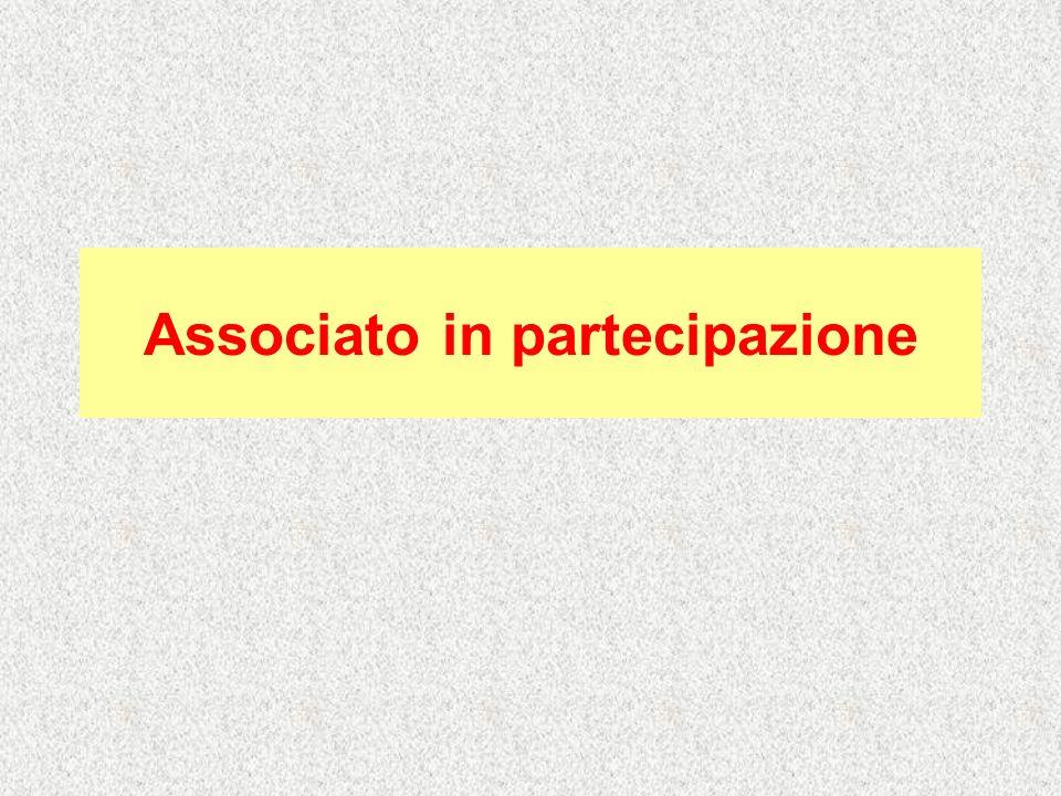 Associato in partecipazione