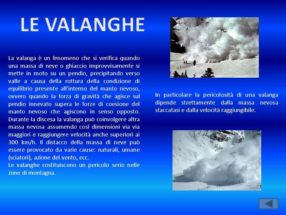 LE VALANGHE