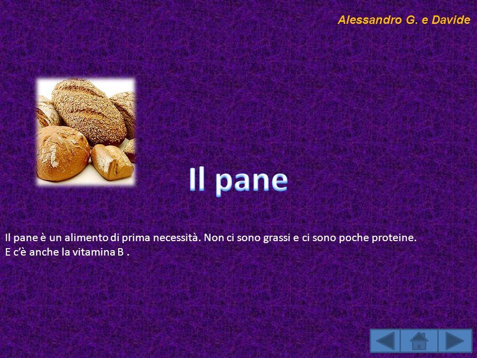 Il pane Alessandro G. e Davide