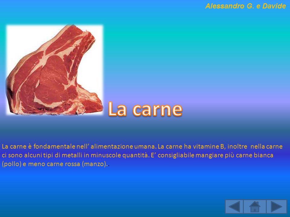 La carne Alessandro G. e Davide
