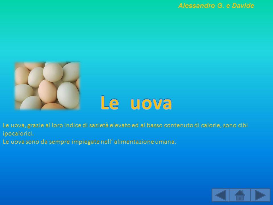 Le uova Alessandro G. e Davide