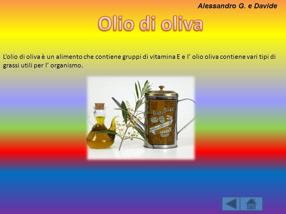 Olio di oliva Alessandro G. e Davide