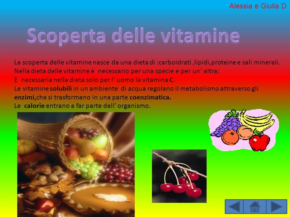 Scoperta delle vitamine