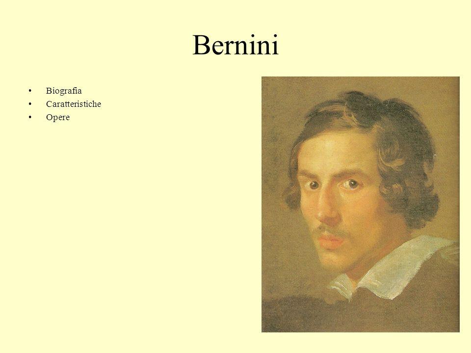 Bernini Biografia Caratteristiche Opere