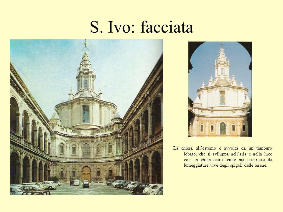 S. Ivo: facciata