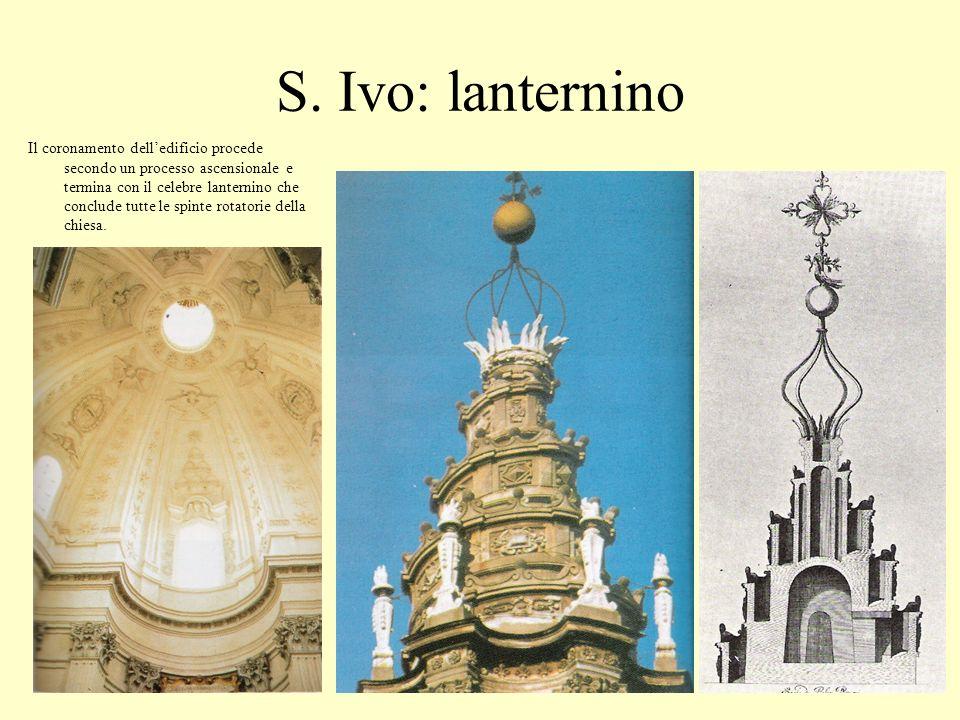 S. Ivo: lanternino