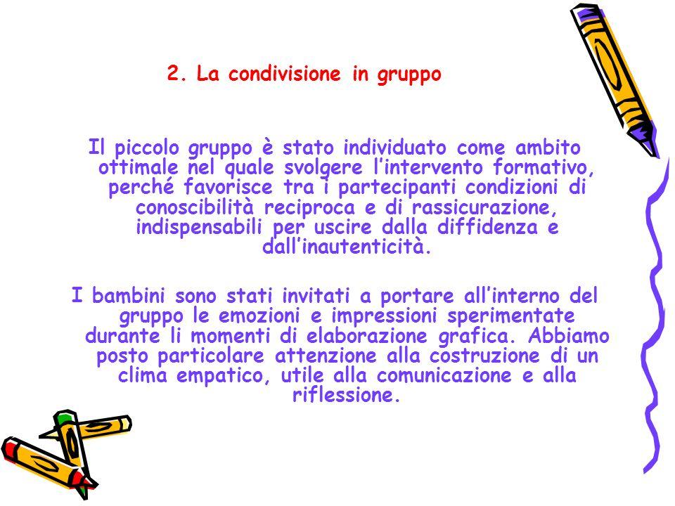 2. La condivisione in gruppo