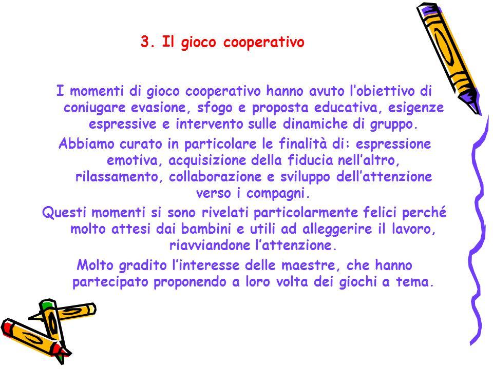 3. Il gioco cooperativo