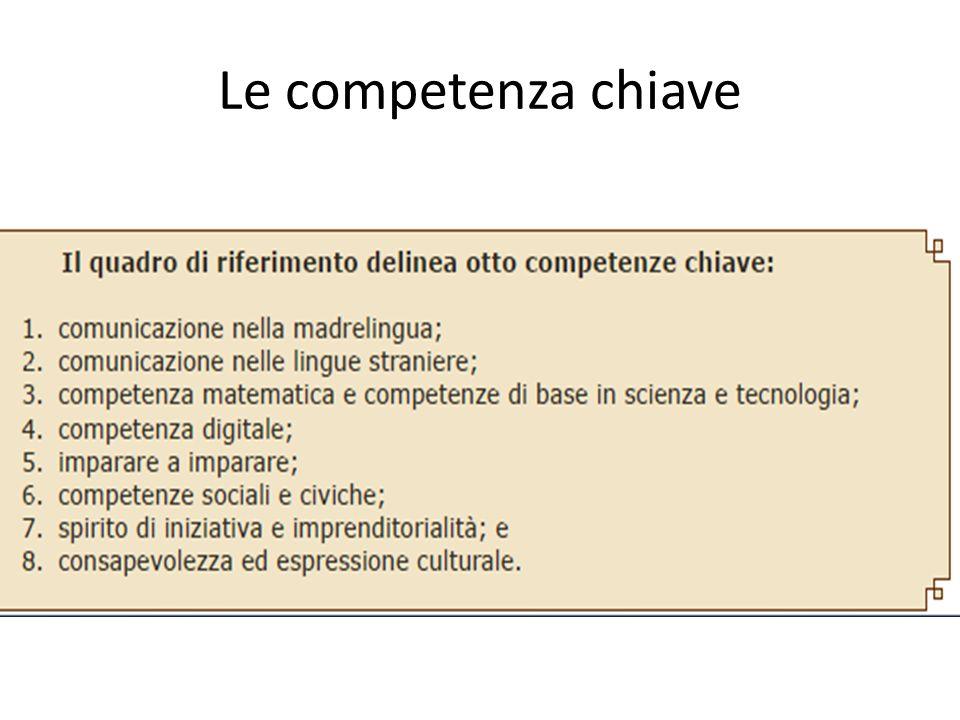 Le competenza chiave