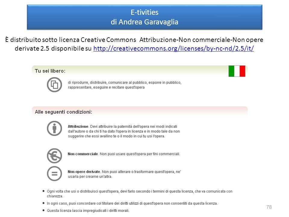 E-tivities di Andrea Garavaglia