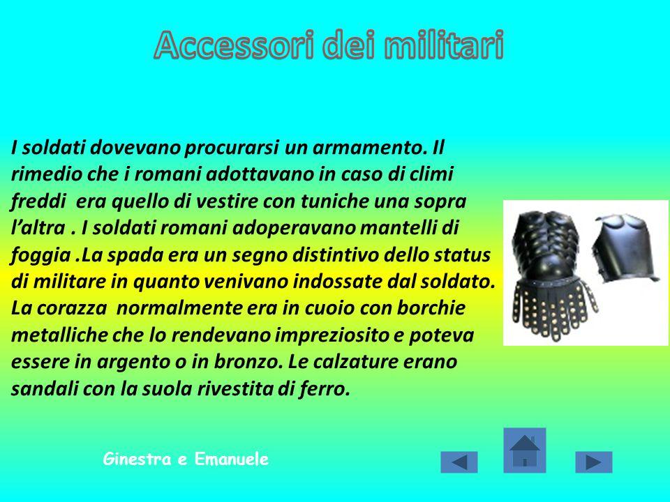 Accessori dei militari