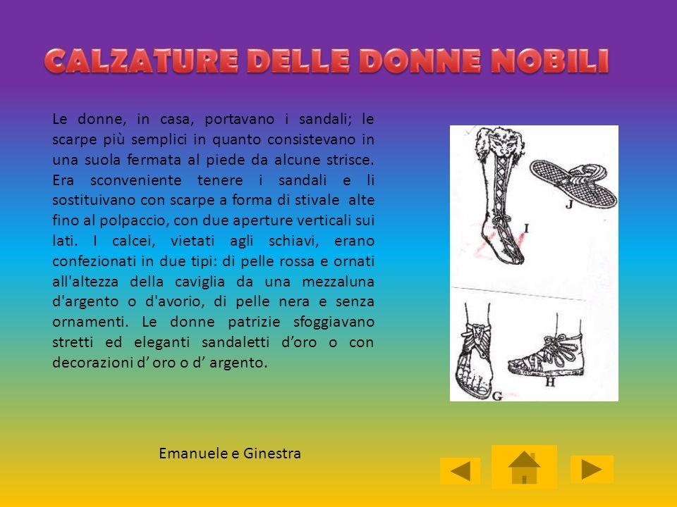 CALZATURE DELLE DONNE NOBILI