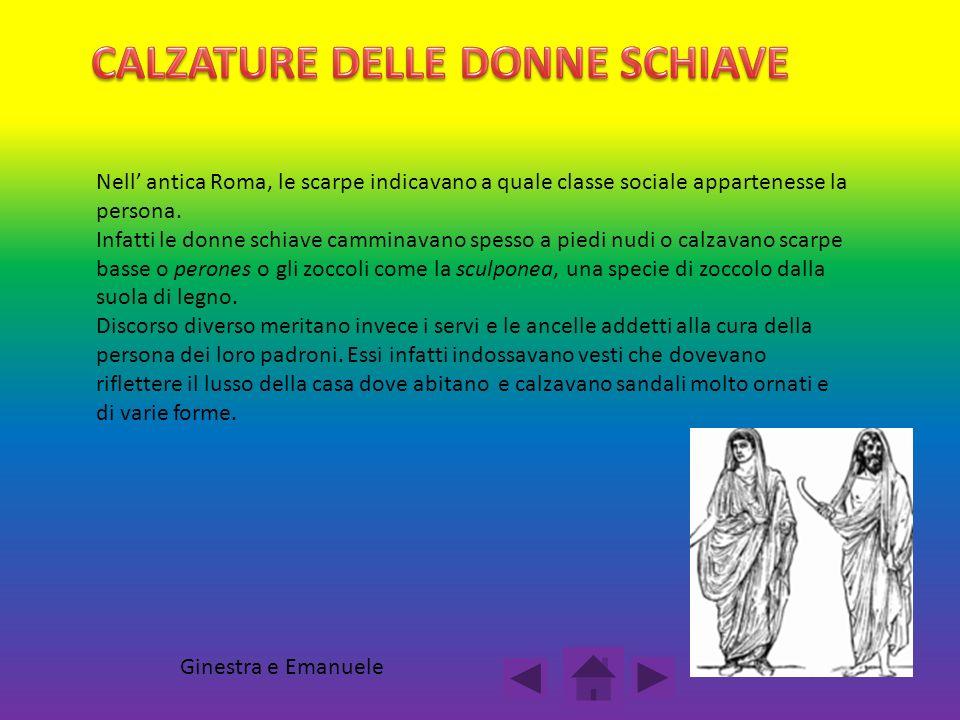 CALZATURE DELLE DONNE SCHIAVE