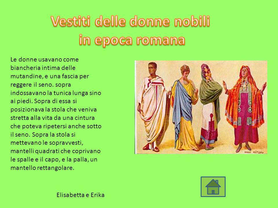 Vestiti delle donne nobili