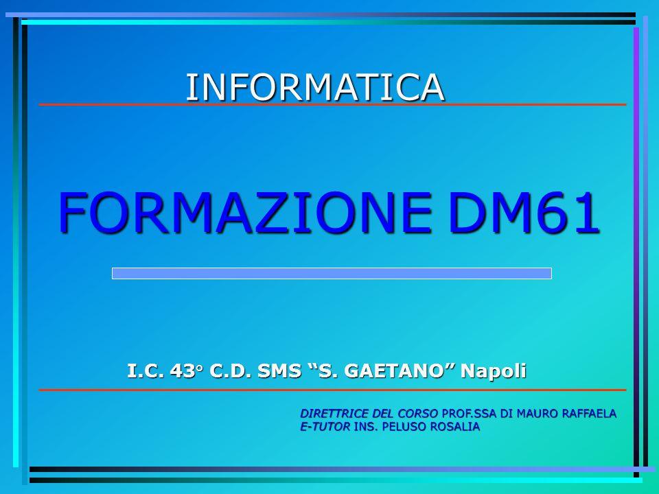 I.C. 43° C.D. SMS S. GAETANO Napoli