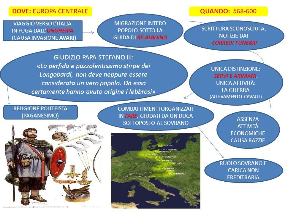 DOVE: EUROPA CENTRALE QUANDO: 568-600