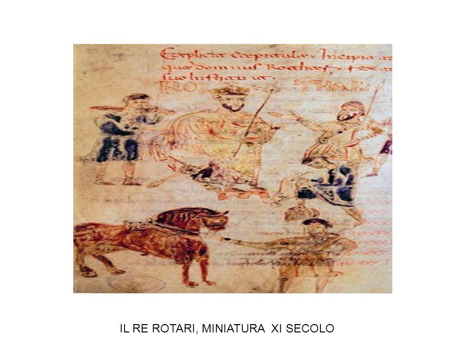 IL RE ROTARI, MINIATURA XI SECOLO