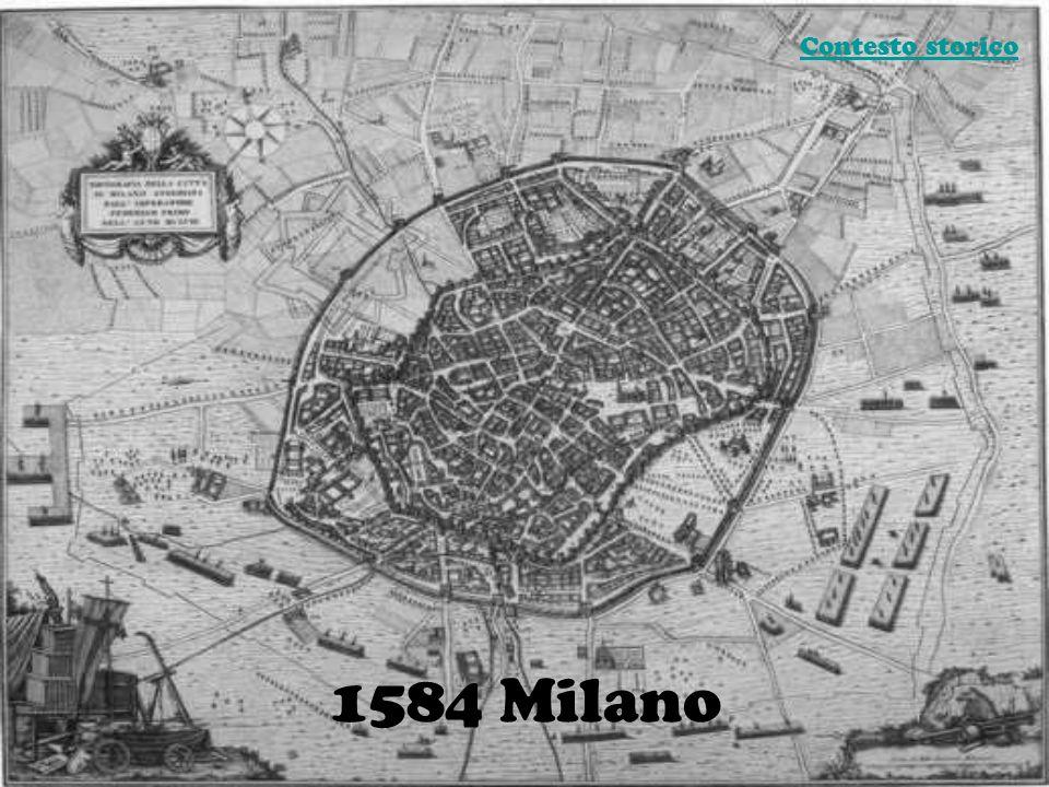 Contesto storico 1584 Milano