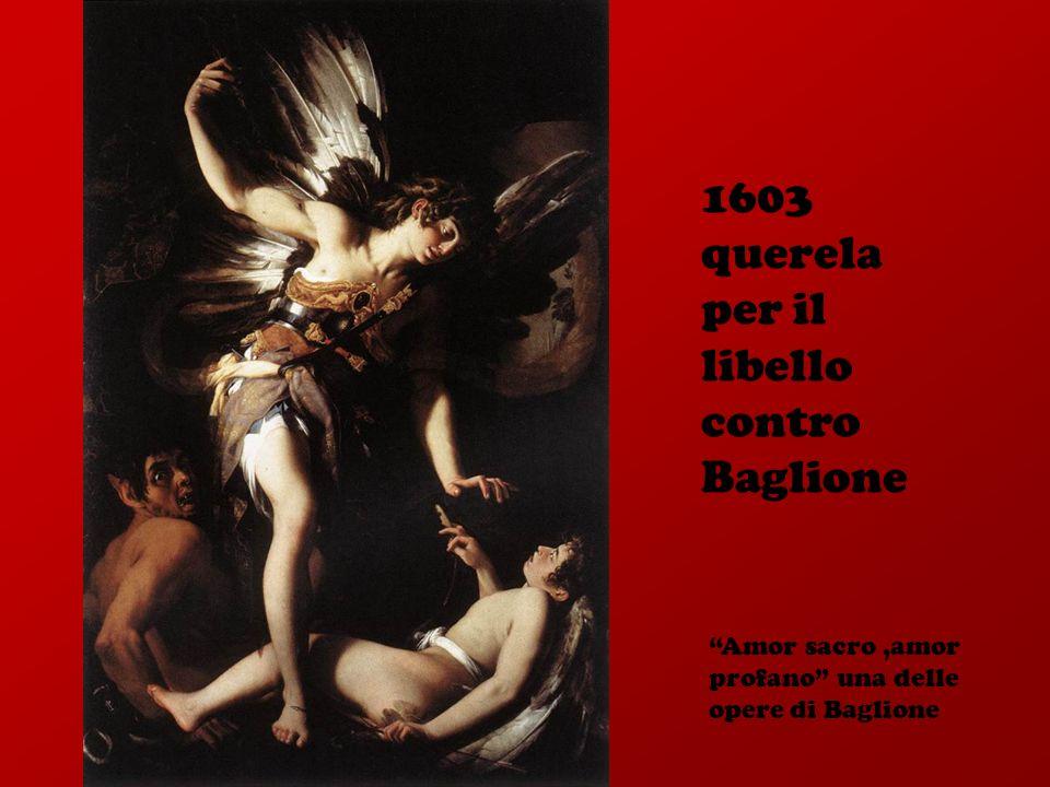 1603 querela per il libello contro Baglione