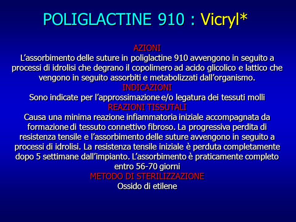 POLIGLACTINE 910 : Vicryl*