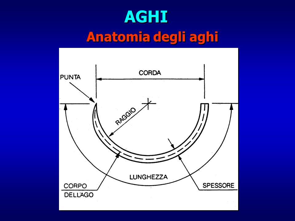AGHI Anatomia degli aghi